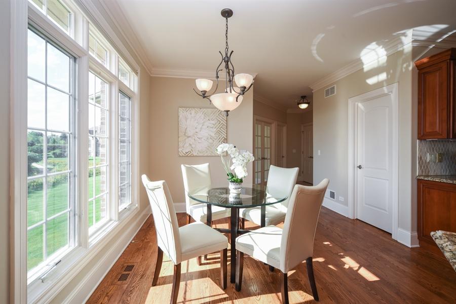 Real Estate Photography - 22220 N. PRAIRIE Lane, Kildeer, IL, 60047 - Breakfast Area