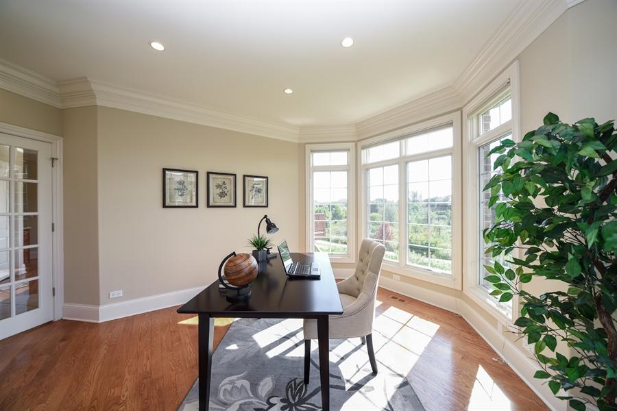 Real Estate Photography - 22220 N. PRAIRIE Lane, Kildeer, IL, 60047 - Office