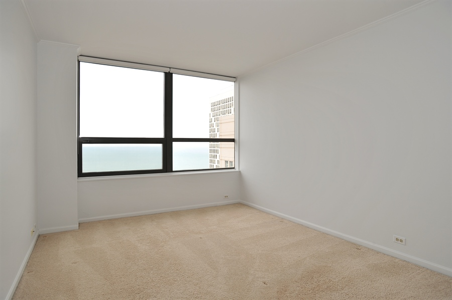 Real Estate Photography - 400 E Ohio, 4802, Chicago, IL, 60611 - 2nd Bedroom