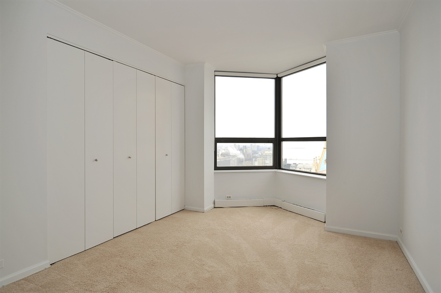 Real Estate Photography - 400 E Ohio, 4802, Chicago, IL, 60611 - 3rd Bedroom