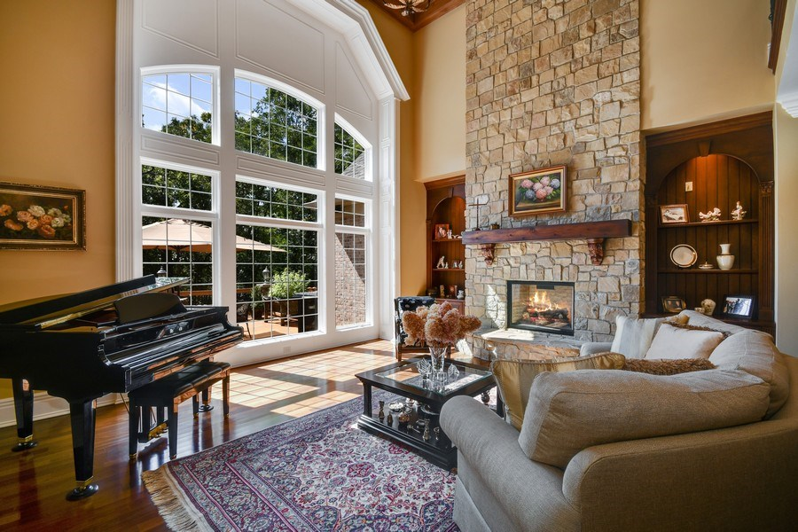 Real Estate Photography - 38W365 Heritage Oaks Drive, St. Charles, IL, 60175 - Living Room