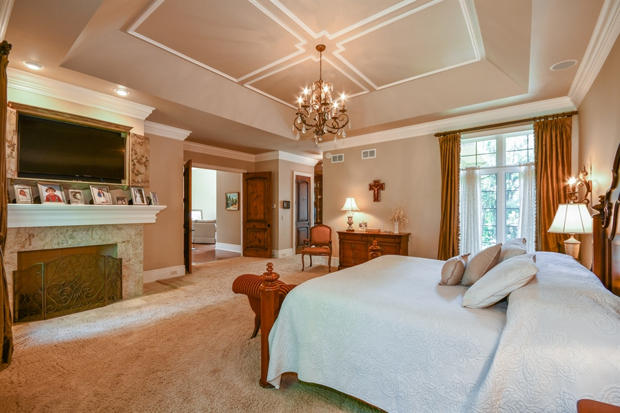 Real Estate Photography - 38W365 Heritage Oaks Drive, St. Charles, IL, 60175 - Master Bedroom