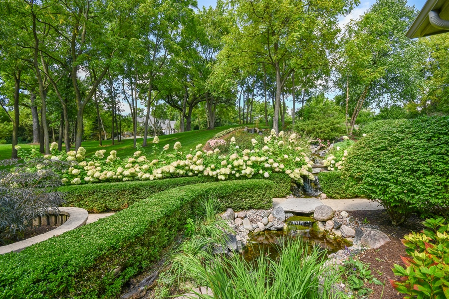 Real Estate Photography - 38W365 Heritage Oaks Drive, St. Charles, IL, 60175 - Waterfall/Pond 2