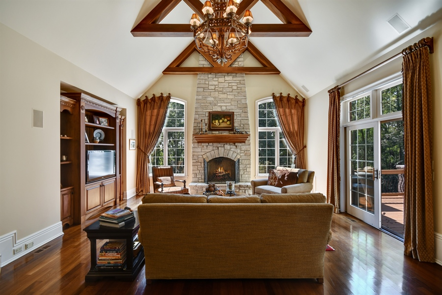 Real Estate Photography - 38W365 Heritage Oaks Drive, St. Charles, IL, 60175 - Family Room