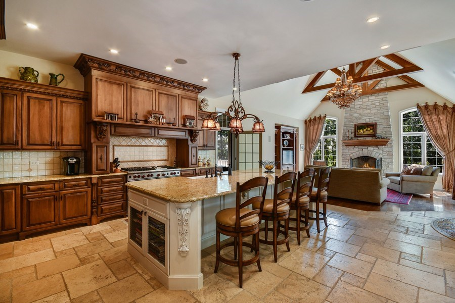Real Estate Photography - 38W365 Heritage Oaks Drive, St. Charles, IL, 60175 - Kitchen