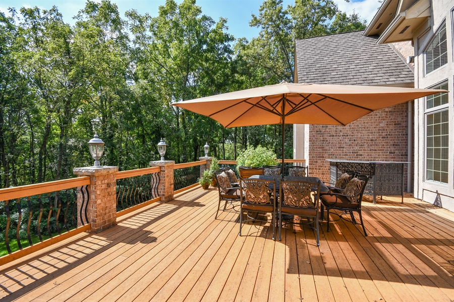 Real Estate Photography - 38W365 Heritage Oaks Drive, St. Charles, IL, 60175 - Deck