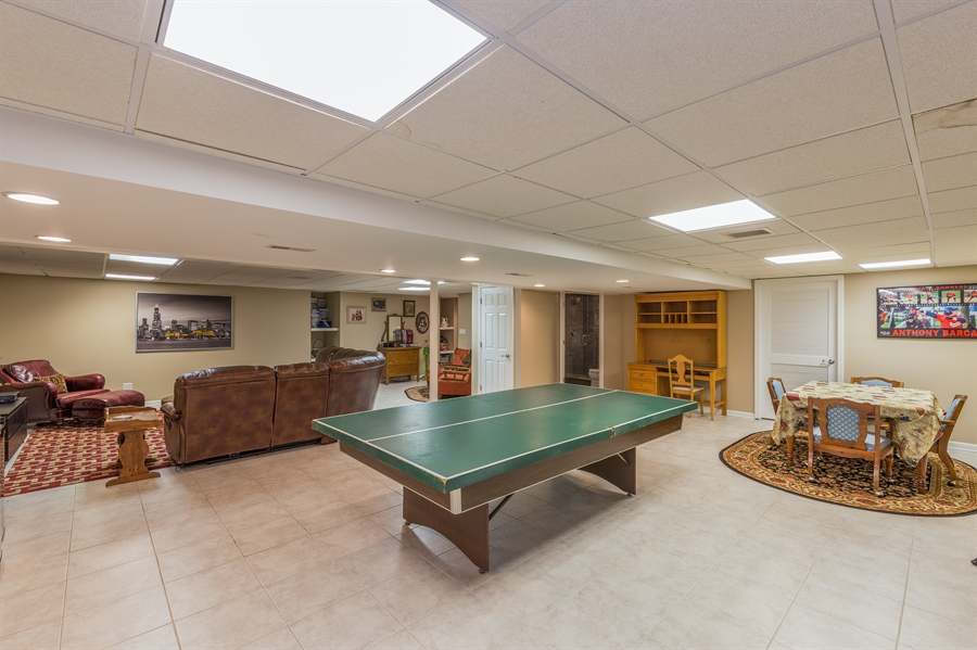 Real Estate Photography - 29W554 Sunset Ridge Dr, Bartlett, IL, 60103 - Basement