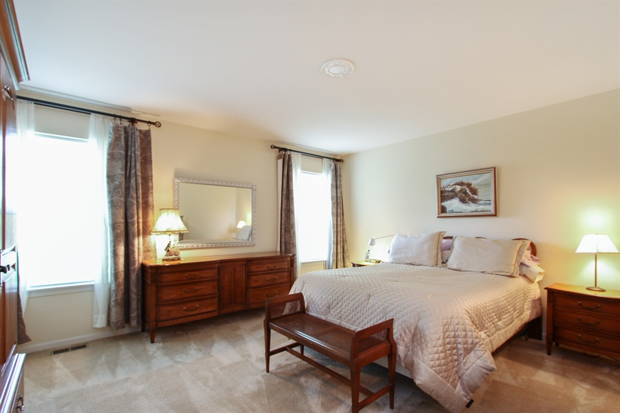Real Estate Photography - 370 Oakmont Drive, Cary, IL, 60013 - Master Bedroom