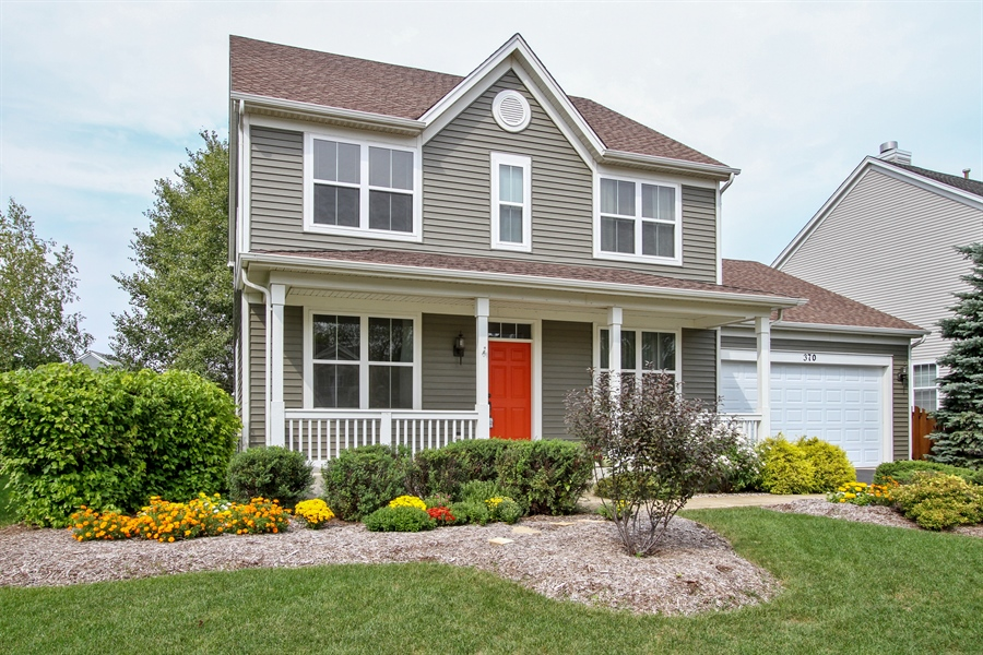 Real Estate Photography - 370 Oakmont Drive, Cary, IL, 60013 - Front View