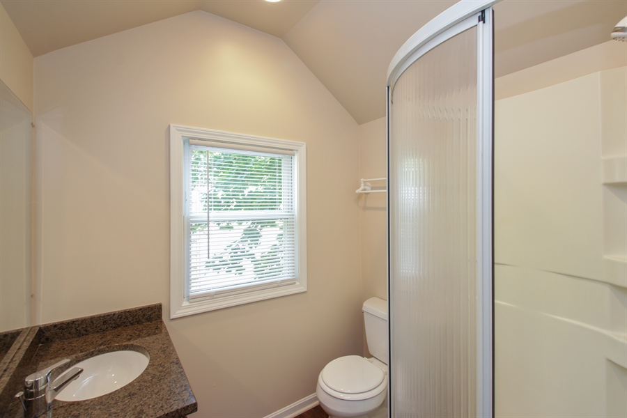 Real Estate Photography - 621 E. Jackson Street, Morris, IL, 60450 - Master Bathroom