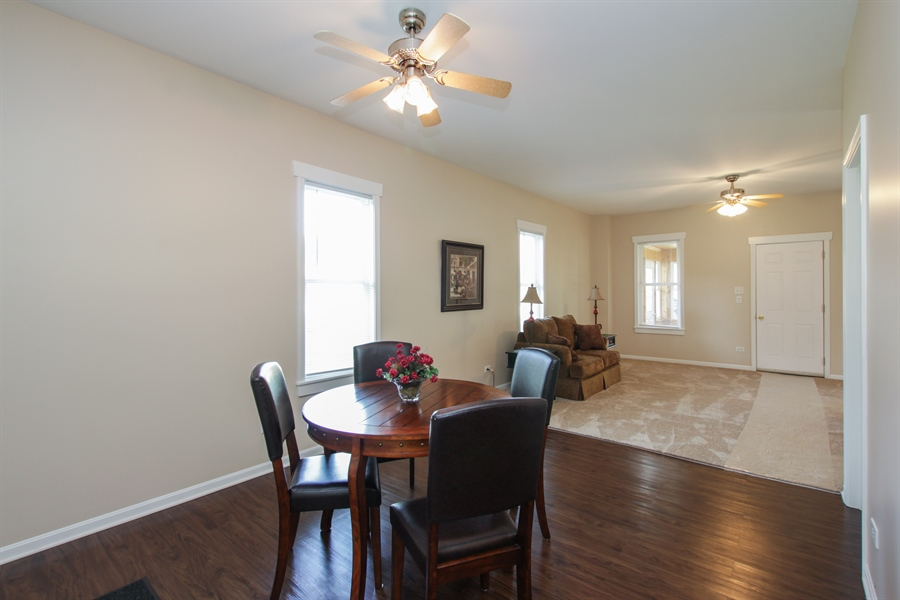 Real Estate Photography - 621 E. Jackson Street, Morris, IL, 60450 - Foyer/Dining Room