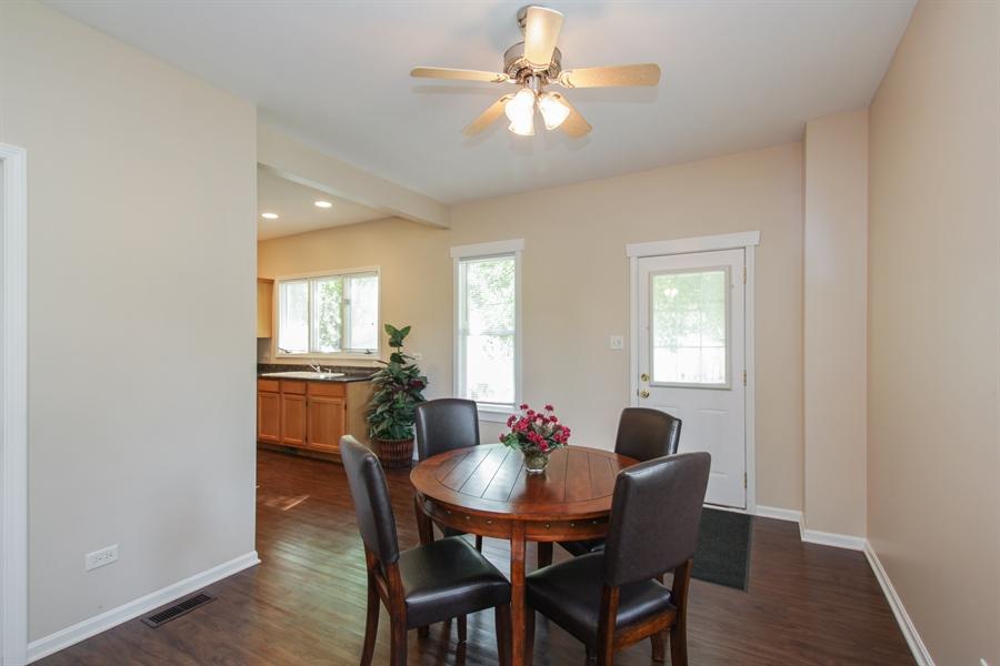 Real Estate Photography - 621 E. Jackson Street, Morris, IL, 60450 - Dining Area