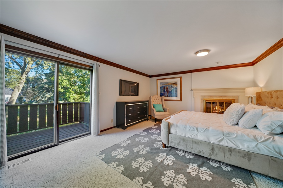 Real Estate Photography - 134 Saddle Brook Drive, Oak Brook, IL, 60523 - Master Bedroom