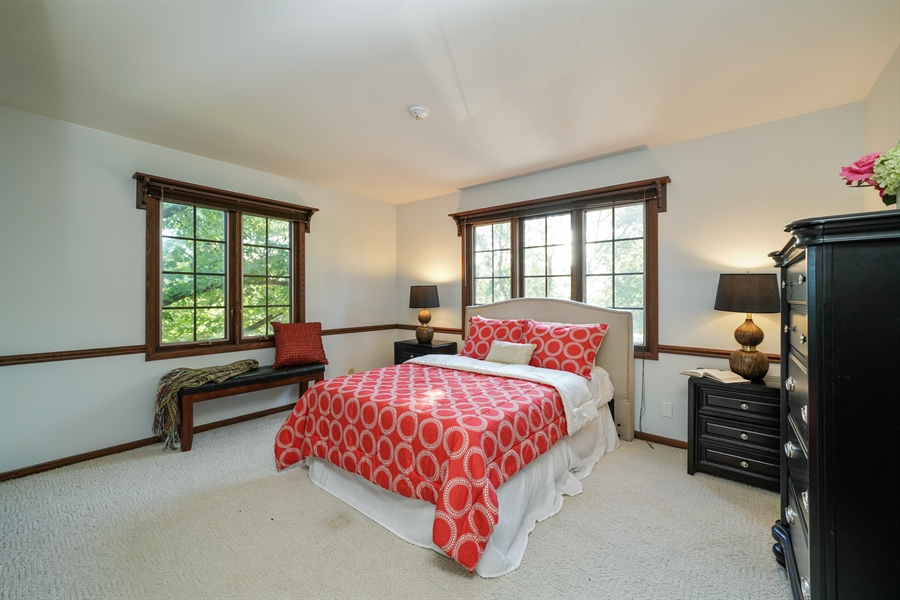 Real Estate Photography - 134 Saddle Brook Drive, Oak Brook, IL, 60523 - 3rd Bedroom