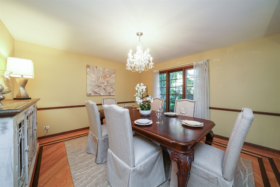 Real Estate Photography - 134 Saddle Brook Drive, Oak Brook, IL, 60523 - Dining Room