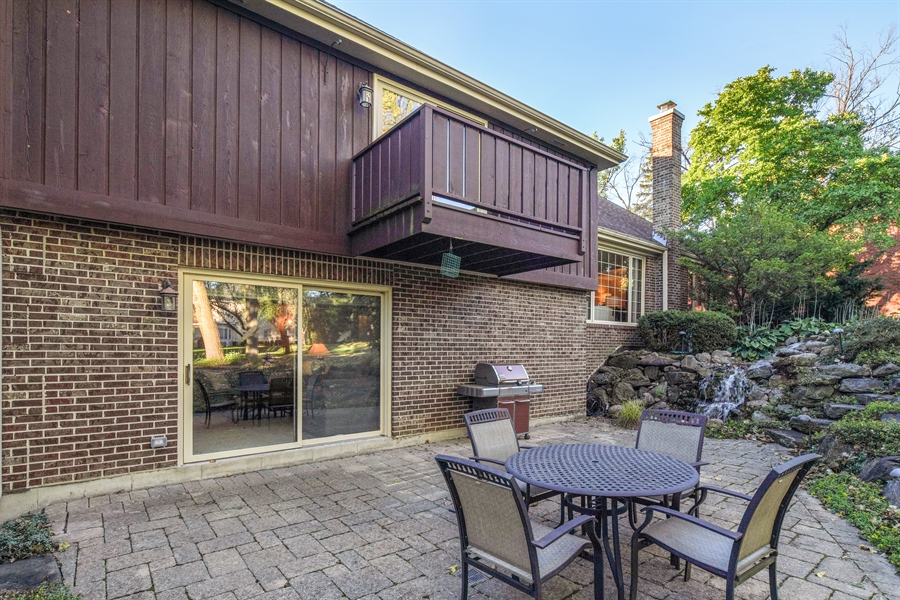 Real Estate Photography - 134 Saddle Brook Drive, Oak Brook, IL, 60523 - Rear View