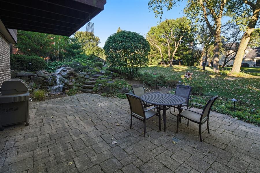 Real Estate Photography - 134 Saddle Brook Drive, Oak Brook, IL, 60523 - Patio