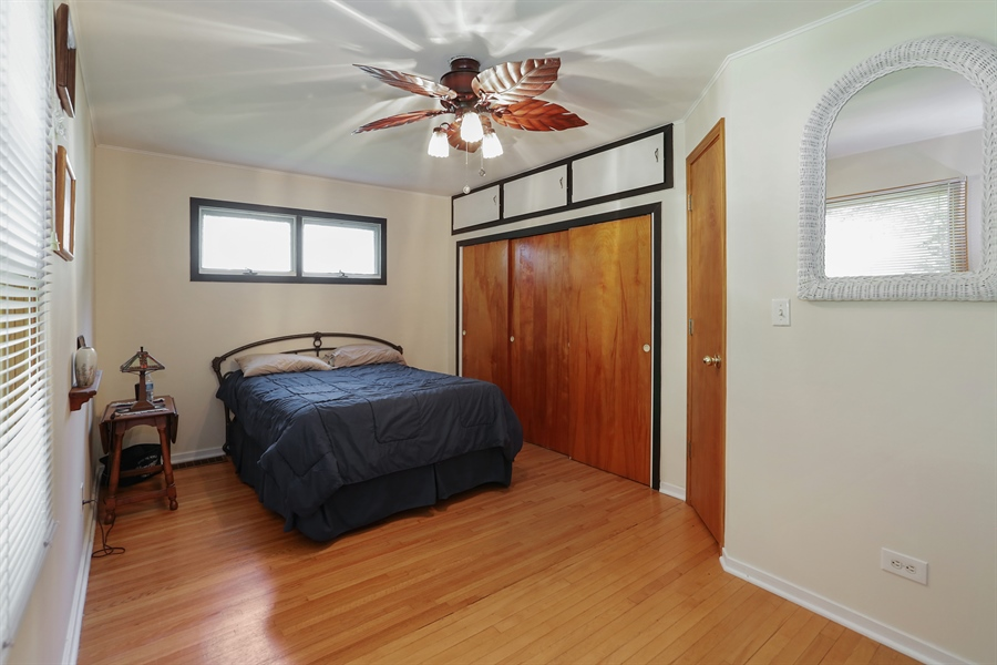 Real Estate Photography - 117 Grove Avenue, Fox River Grove, IL, 60021 - Bedroom