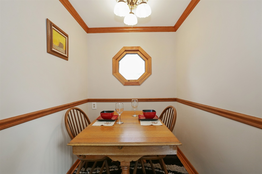 Real Estate Photography - 117 Grove Avenue, Fox River Grove, IL, 60021 - Dining Room