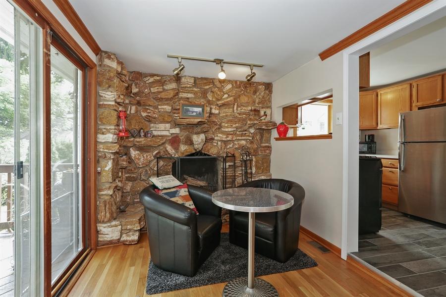 Real Estate Photography - 117 Grove Avenue, Fox River Grove, IL, 60021 - Family Room