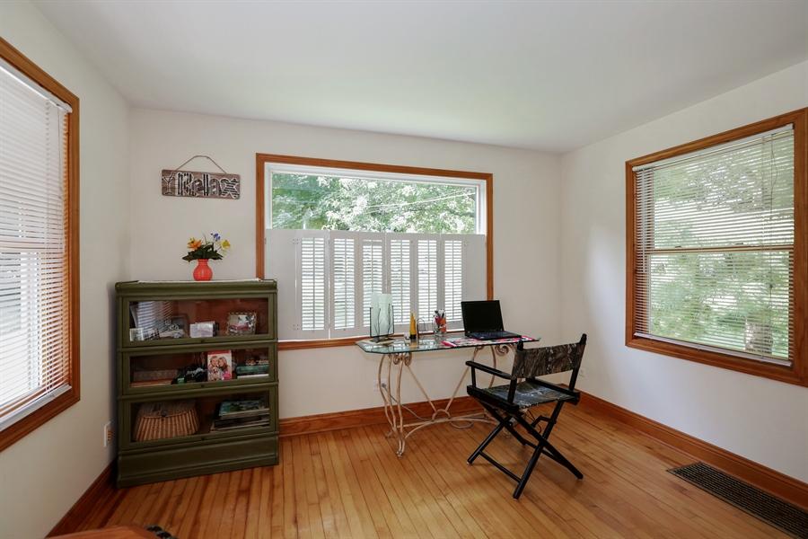 Real Estate Photography - 117 Grove Avenue, Fox River Grove, IL, 60021 - Office