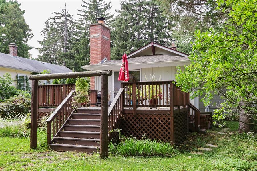 Real Estate Photography - 117 Grove Avenue, Fox River Grove, IL, 60021 - Deck