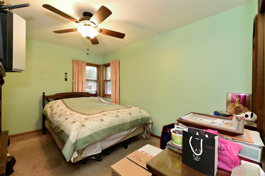 Real Estate Photography - 105 E. 2nd Street, Genoa, IL, 60135 - Master Bedroom