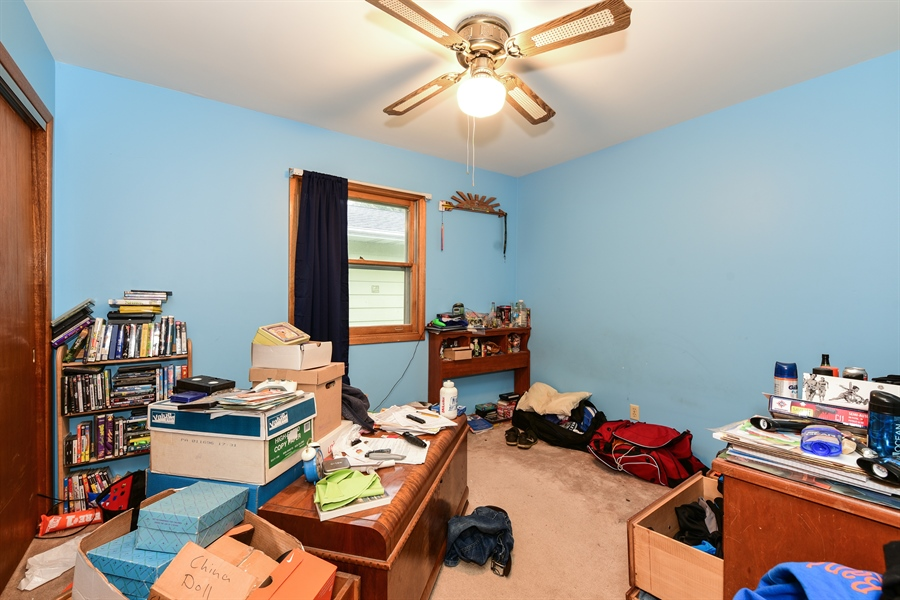 Real Estate Photography - 105 E. 2nd Street, Genoa, IL, 60135 - 2nd Bedroom