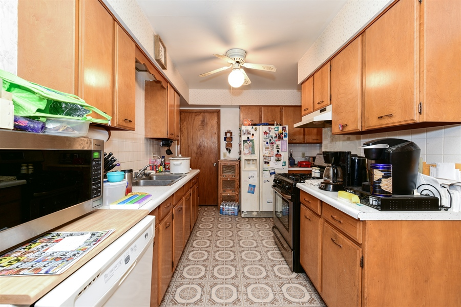Real Estate Photography - 105 E. 2nd Street, Genoa, IL, 60135 - Kitchen