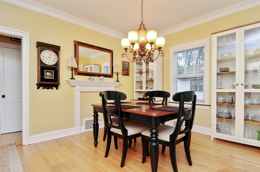 Real Estate Photography - 437 Carleton Avenue, Glen Ellyn, IL, 60137 - Dining Room