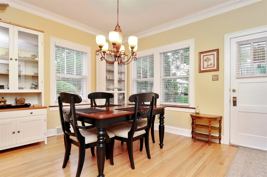 Real Estate Photography - 437 Carleton Avenue, Glen Ellyn, IL, 60137 - Dining Area