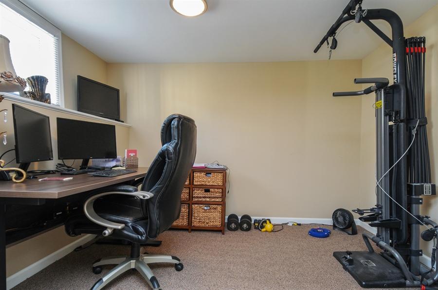 Real Estate Photography - 437 Carleton Avenue, Glen Ellyn, IL, 60137 - Office