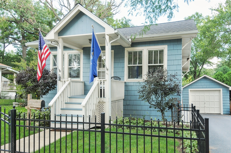 Real Estate Photography - 437 Carleton Avenue, Glen Ellyn, IL, 60137 - Front View