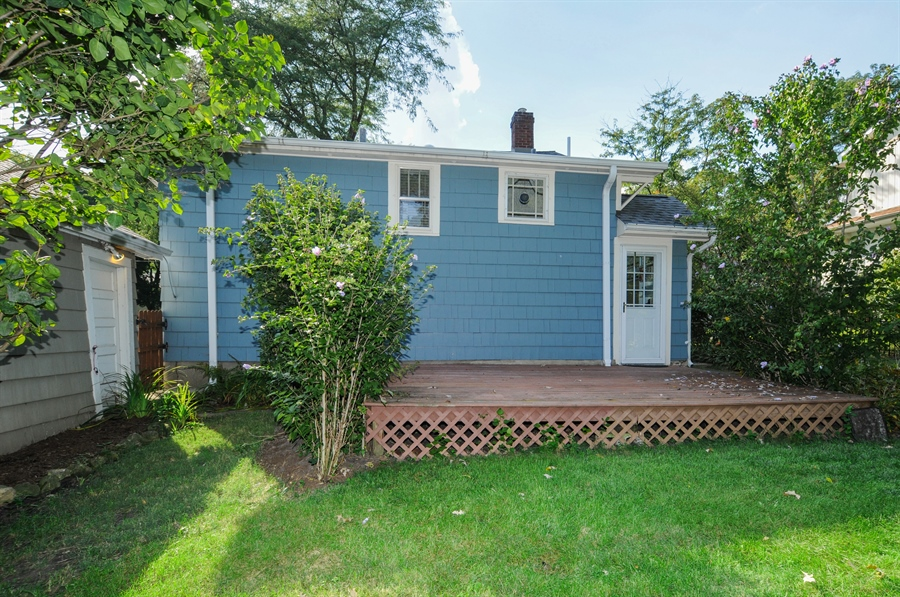 Real Estate Photography - 437 Carleton Avenue, Glen Ellyn, IL, 60137 - Rear View
