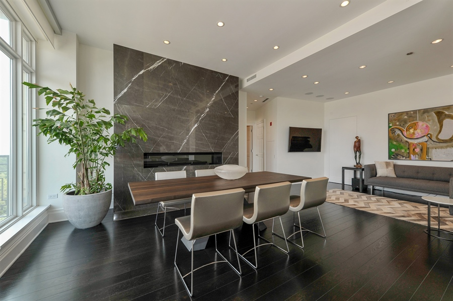 Real Estate Photography - 2550 N. Lakeview Avenue, Unit N1105-6, Chicago, IL, 60614 - Dining Room
