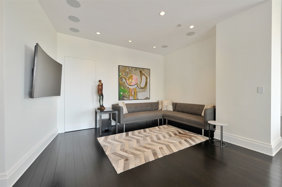 Real Estate Photography - 2550 N. Lakeview Avenue, Unit N1105-6, Chicago, IL, 60614 - Den