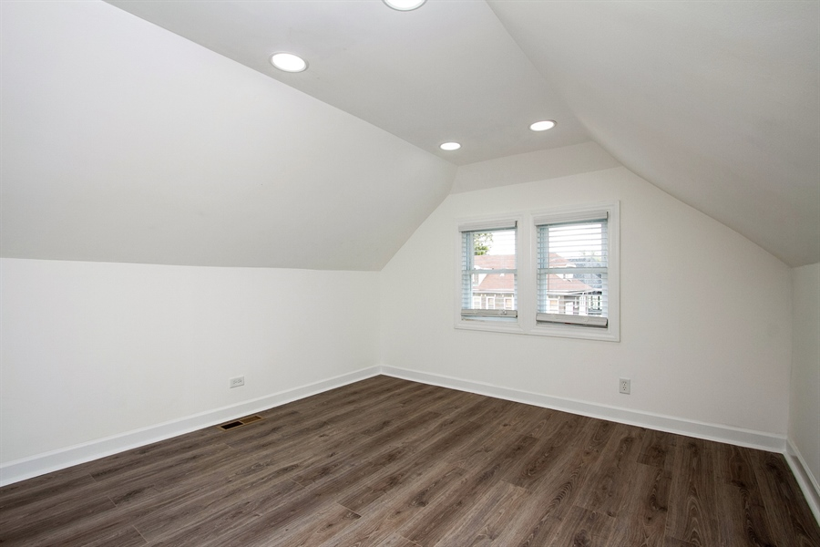 Real Estate Photography - 1647 W. 92nd Street, Chicago, IL, 60620 - 2nd Bedroom