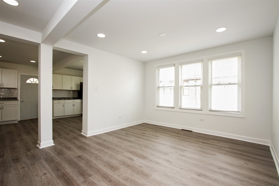Real Estate Photography - 1647 W. 92nd Street, Chicago, IL, 60620 - Living Room