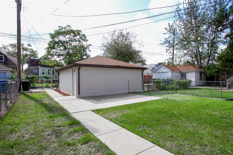 Real Estate Photography - 1647 W. 92nd Street, Chicago, IL, 60620 - Back Yard