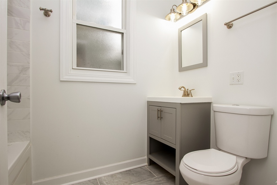 Real Estate Photography - 1647 W. 92nd Street, Chicago, IL, 60620 - Bathroom