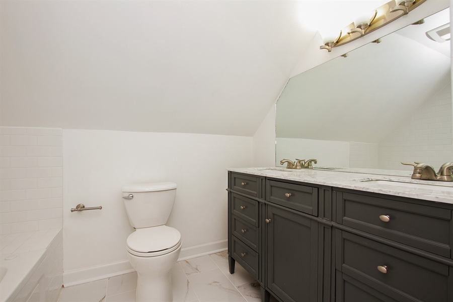 Real Estate Photography - 1647 W. 92nd Street, Chicago, IL, 60620 - 2nd Bathroom