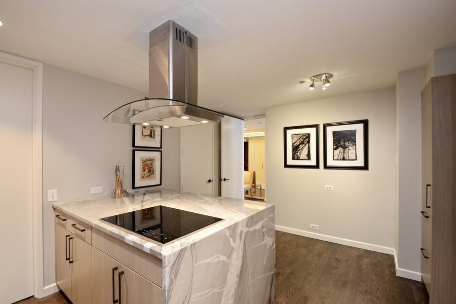 Real Estate Photography - 180 E. Pearson Street, Unit 4404, Chicago, IL, 60611 - Kitchen