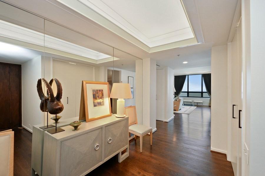 Real Estate Photography - 180 E. Pearson Street, Unit 4404, Chicago, IL, 60611 - Foyer