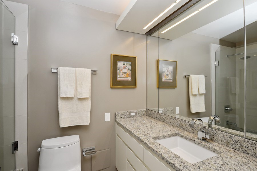 Real Estate Photography - 180 E. Pearson Street, Unit 4404, Chicago, IL, 60611 - Bathroom