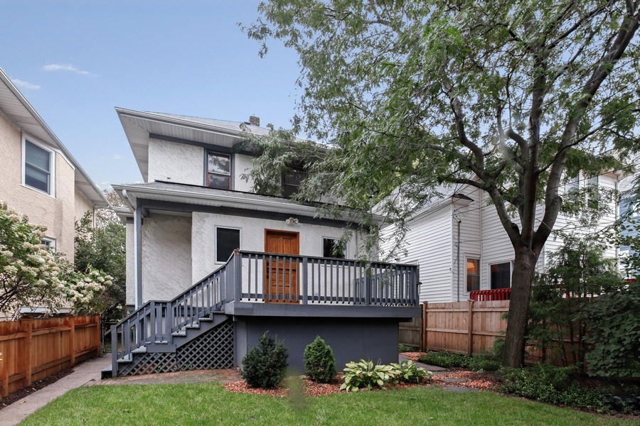 Real Estate Photography - 931 S. Kenilworth Avenue, Oak Park, IL, 60304 - Rear View
