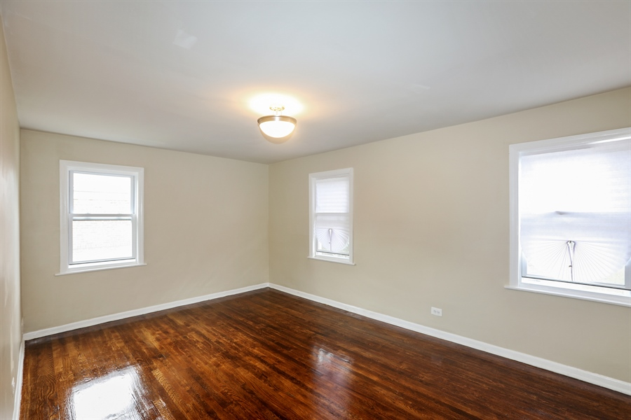 Real Estate Photography - 1056 W. 111TH Place, Chicago, IL, 60643 - Master Bedroom