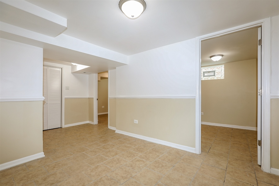 Real Estate Photography - 1056 W. 111TH Place, Chicago, IL, 60643 - Basement