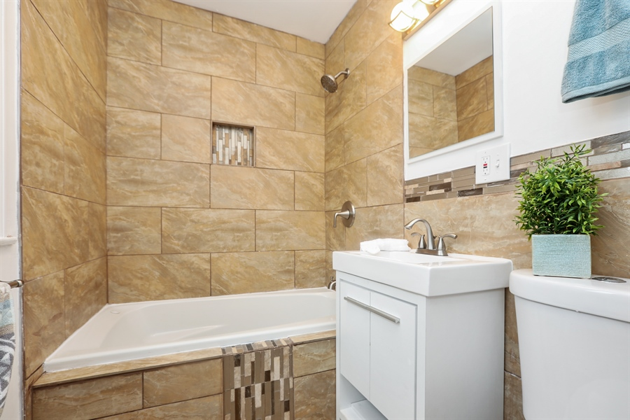 Real Estate Photography - 1056 W. 111TH Place, Chicago, IL, 60643 - Bathroom