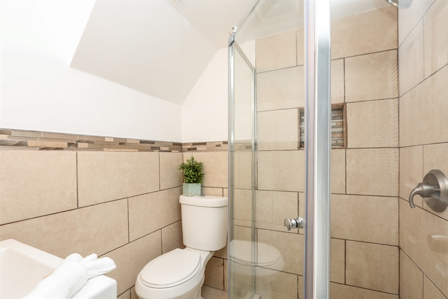 Real Estate Photography - 1056 W. 111TH Place, Chicago, IL, 60643 - 2nd Bathroom