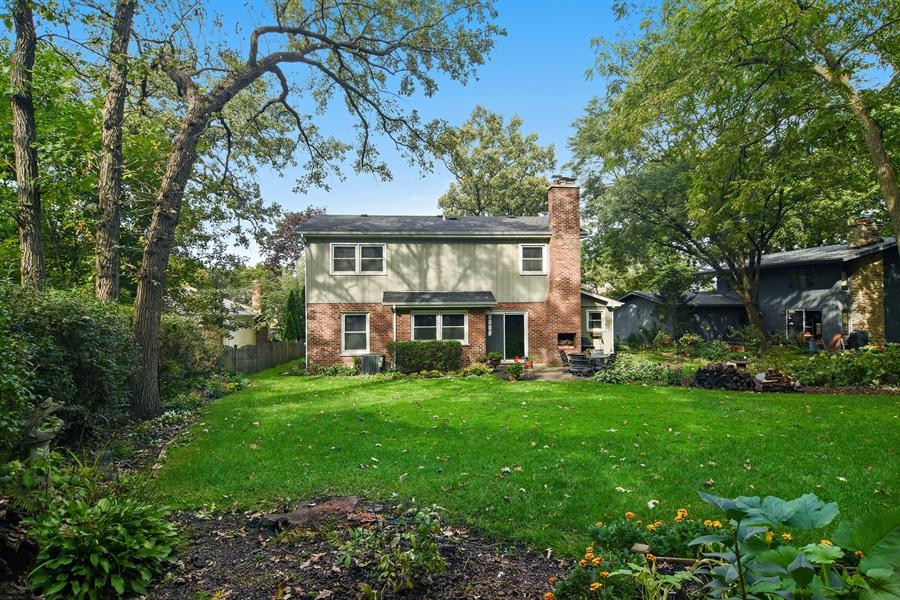 Real Estate Photography - 721 Concord Lane, Barrington, IL, 60010 - Rear View